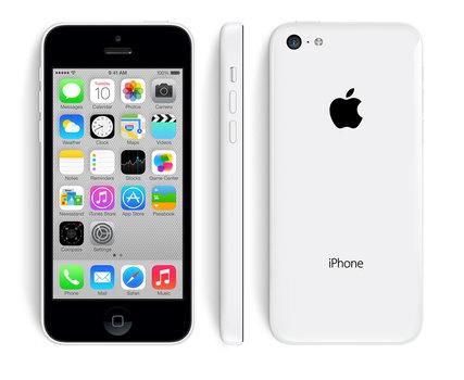 Unlocked Apple iPhone 5c 8GB Smartphone - White