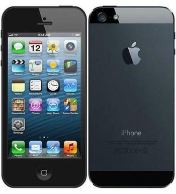 Verizon + GSM Unlocked Apple iPhone 5 16GB Smartphone - Black