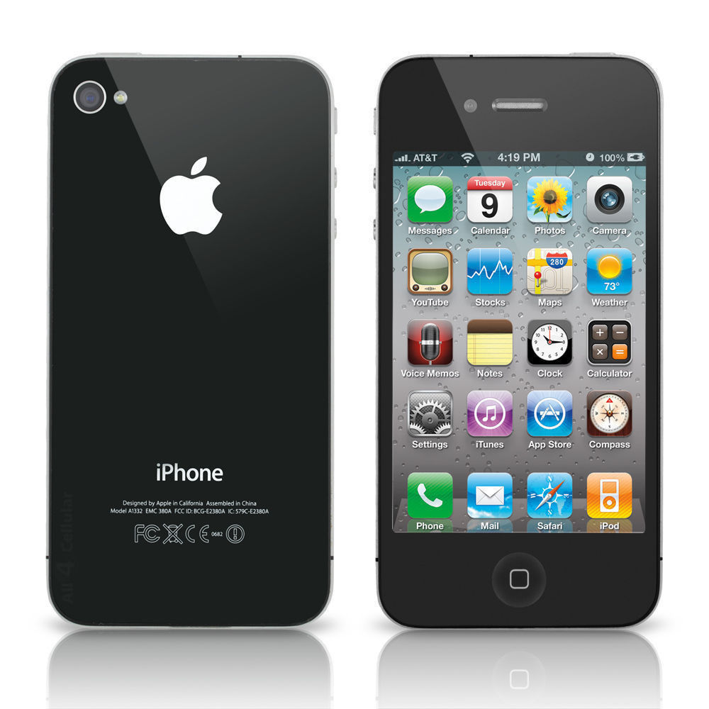 iphone 4s at t at amp t apple iphone 4 16gb smartphone property room 3026