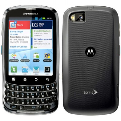 sprint motorola admiral xt603 android smartphone property room rh propertyroom com Motorola Admiral Phone Clip Durable Admiral Phone Holster