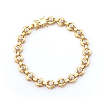 0.69 CT Diamond Designer Bracelet List Price $1,140