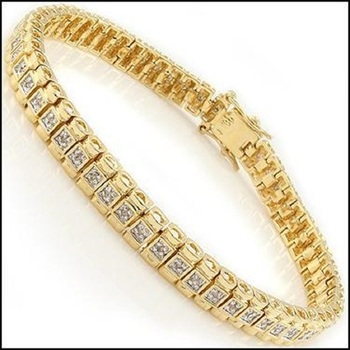 0.94 CT Diamond Designer Bracelet List Price $1,365!