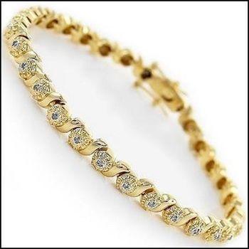 0.82 CT Diamond Designer Bracelet