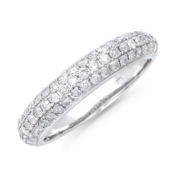 0.82 Cts Diamond 14K Designer Gold Ring