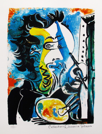 Pablo Picasso THE ARTIST Estate Signed Limited Edition Giclee List Price $785