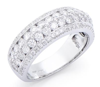 1.38 Ct Certified Diamond 14K Designer Gold Ring List Price $15,975!!!