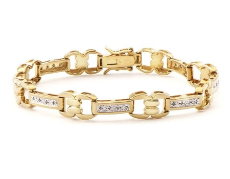 0.68 CT Diamond Designer Bracelet MSRP $1,585