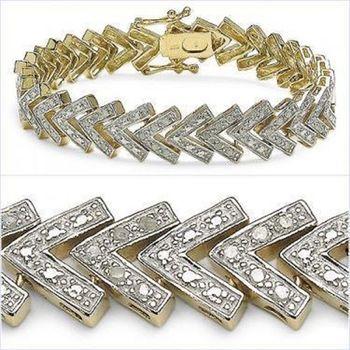 1.08 Cts Diamond Designer Bracelet