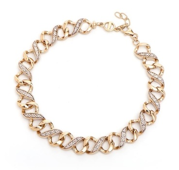 0.18 CT Diamond 18KGP Designer Bracelet