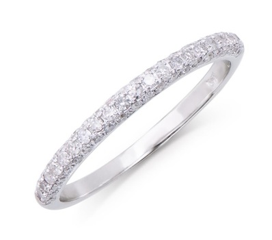 0.36 Cts Certified Diamond 14K Designer Gold Ring