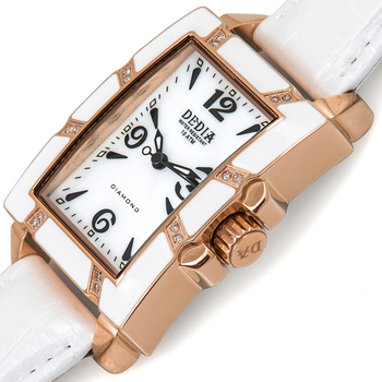 DEDIA Lily LR Ladies Diamond Watch (Brand New) Retails at $1,495.00