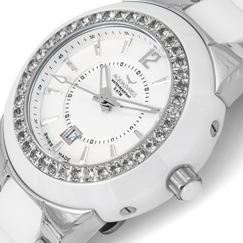 AQUASWISS SeaStar Semi-Precious Ladies Watch (Brand New) Retails at $1,495.00