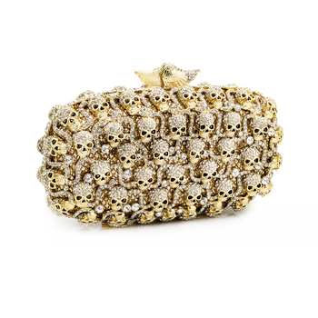 LuxMob Skull Crystal Clutch (Brand New) Retails at $695.00