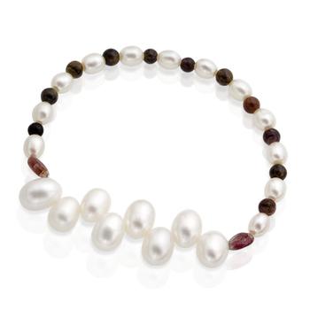 Pearl & Tourmaline Bracelet