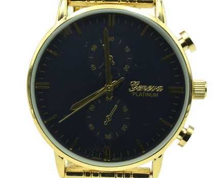 Casual Gold Tone, Men's Watch