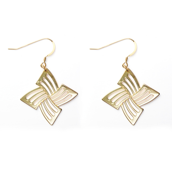 14k over Sterling Silver Earrings Dangle Earrings