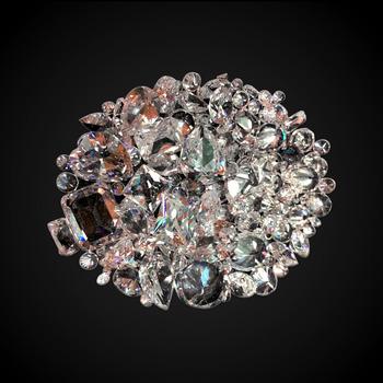 50 Carats t.w Mixed White CZ Loose Stone Lot - Randomly Selected