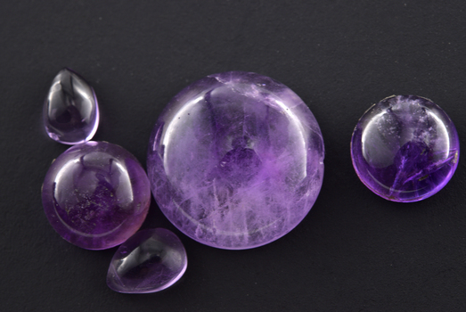 16.805 Carat Amethyst Lace Agate Loose Gemstone