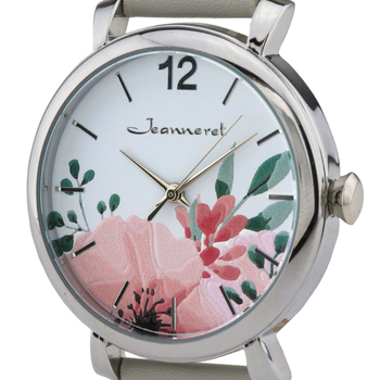 Floral Dial, Casual Ladies Watch