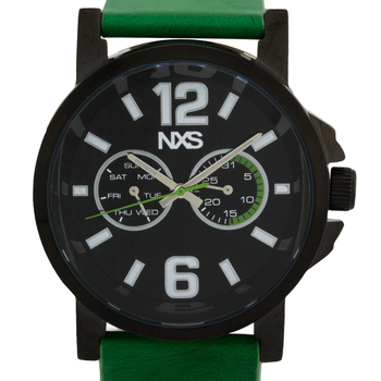 Green Leather Strap, Men's Watch
