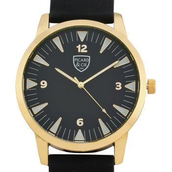 Gold Case, Silicone Strap, Men's Watch