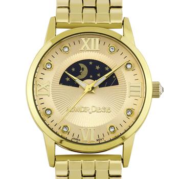 Lumieres Ladies Watch - Gold Bracelet, Gold Case, Gold Dial* 24 hrs! No Reserve *