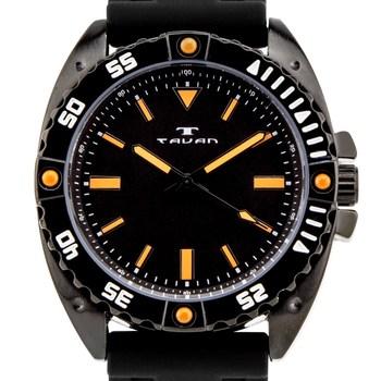 Tavan Anchor Sentinel Mens Watch - Black Silicone Strap, Black Case, Black Dial* 24 hrs! No Reserve *