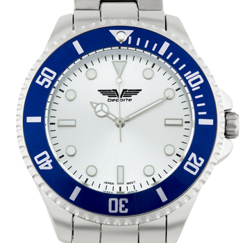 Casual Bright Markers Bezel Men's Watch