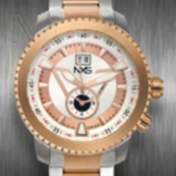NXS Swiss 2 Time Zone Colby Mens Watch