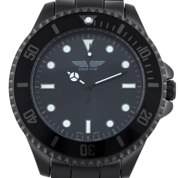 Deporte Cantoni Black Men's Watch
