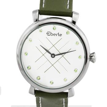 Women's Watch, Green Tone Leather Strap
