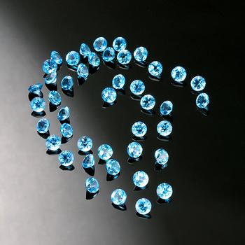 7.53 Carat t.w Blue Topaz Lot Loose Gemstones