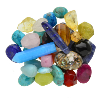 100 Grams Mixed Lot Loose Stone