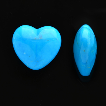 33.085 Carat Turquoise Dyed Howlite Loose Opaque stone