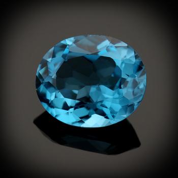 3.275 Carat AA Swiss Blue Topaz Loose Gemstone