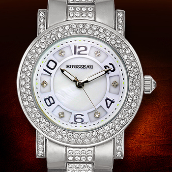 Silver Tone Casual Ladies Watch
