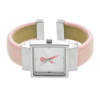 Breast Cancer Awareness Pink Cuff Ladies Watch