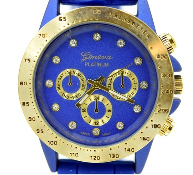 Silicone Strap, Ladies Watch