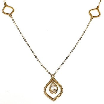 18 Inch 14K over Sterling Silver Necklace