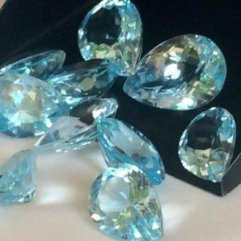 3.115 Carat Sky Blue Topaz Loose Gemstone