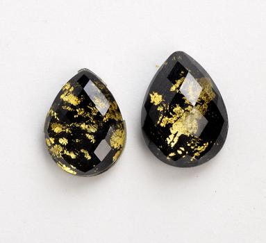 18.370 Carat Copper Onyx Loose Doublet Opaque stone
