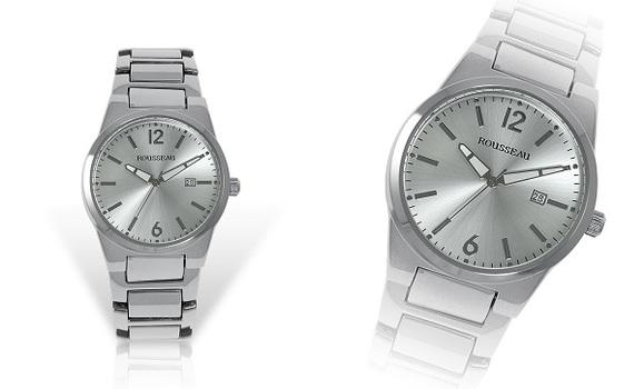 Silver Tone, Casual Men's Watch