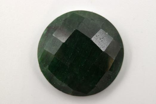 12.345 Carat Rough Green Sapphire Loose Gemstone