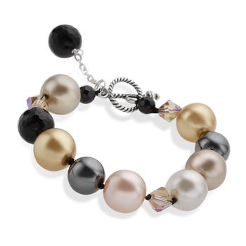Sterling Silver Multi Stones Bracelet