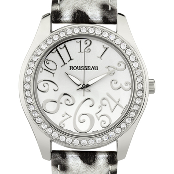 Casual Arabic Numerals Ladies Watch