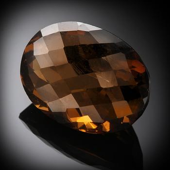 19.035 Carat Smoky Quartz  Loose Gemstone
