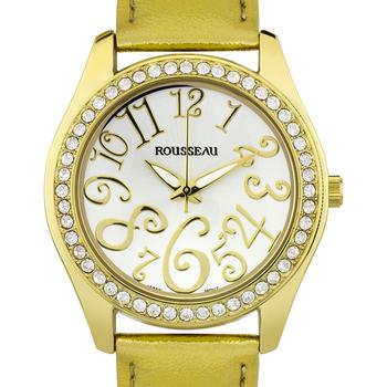 Casual Arabic Numerals Ladies Watch