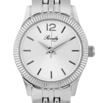 Casual Fluted Bezel Ladies Watch