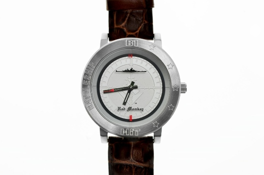 Causal Leather Men's Watch