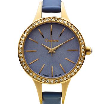Classic Swarovski Bezel Ladies Watch